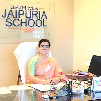 Principal-Jagdishpur-Jaipuria-School